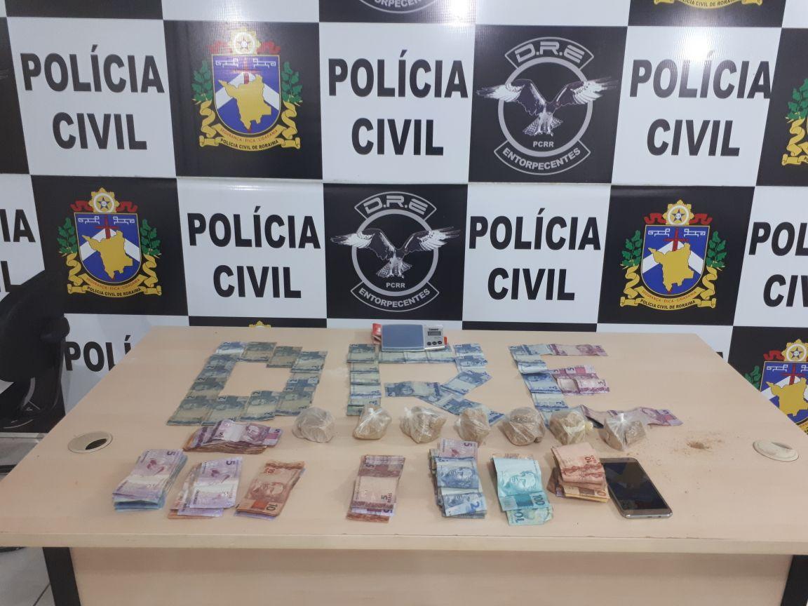 POLICIA CIVIL PRENDE MULHERES ENVOLVIDAS COM O TRÁFICO DE DROGAS EM BOA VISTA